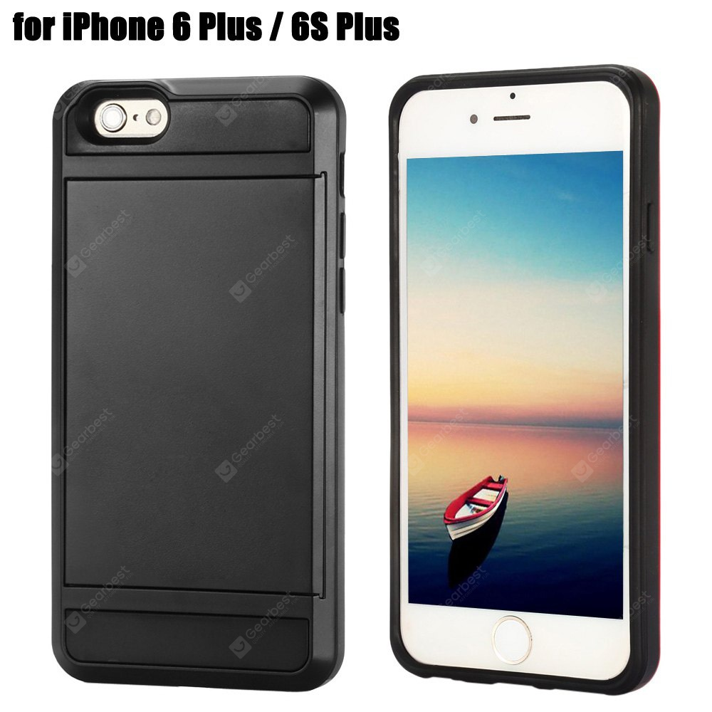 Practical Phone Back Case for iPhone 6 Plus - 6S Plus