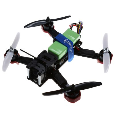 Ideafly F210 5.8GHz FPV 10CH 2.4GHz Racing DroneBrushless FPV Racer<br>Ideafly F210 5.8GHz FPV 10CH 2.4GHz Racing Drone<br><br>Brand: Ideafly<br>KV: 2300<br>Package Contents: 1 x Racing Drone, 1 x Ideafly I10 transmitter, 4 x Spare 3-leaf Propeller, 6 x Propeller Ring, 1 x 11.1V 1500mAh 30C Battery, 1 x FPV Monitor ( with Antenna ), 1 x Camera, 1 x US Plug Charger, 1 x TS5<br>Package size (L x W x H): 33.00 x 11.00 x 27.00 cm / 12.99 x 4.33 x 10.63 inches<br>Package weight: 1.580 kg<br>Product size (L x W x H): 14.00 x 17.00 x 6.00 cm / 5.51 x 6.69 x 2.36 inches<br>Product weight: 0.450 kg<br>Type: Frame Kit