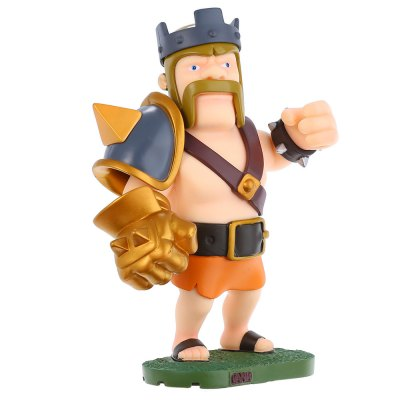 COC King Figure Model Collection Table Decor
