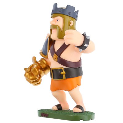 coc-king-figure-model-collection-table-decor