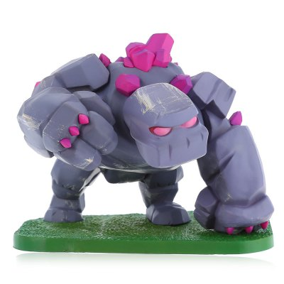 COC Golem Figure Model Collection Table Decor