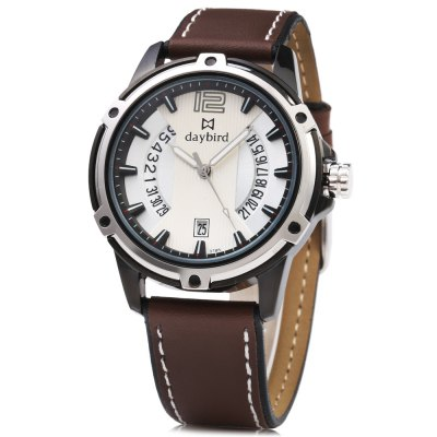 daybird 3785 Fashion 10m Waterproof Men Quartz Watch