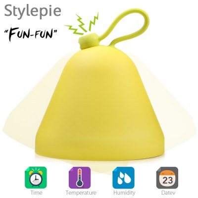 Stylepie FUN-FUN Versatile LED Night Light Alarm Temperature Humidity Dispaly