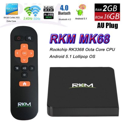 Rikomagic RKM MK68 TV Box