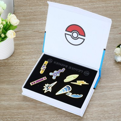 Cartoon Alloy Badge Movie Product Children Present