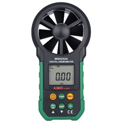AIMOMETER MS6252A Digital Anemometer