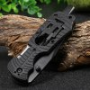 best Multifunctional Liner Lock Folding Knife with Screw Heads / LED