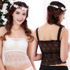 cheap Women Sexy Seamless Backless Lace Bra with Padded Cups