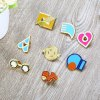Cartoon Alloy Badge Movie Product Children Present deal