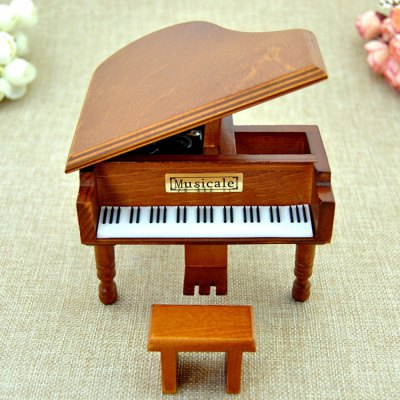 Music Box Piano Shape