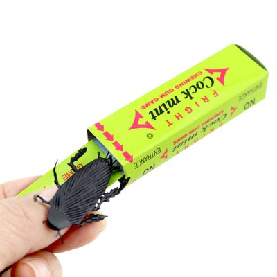 Chewing Gum Cockroach Tricky Joke Toy
