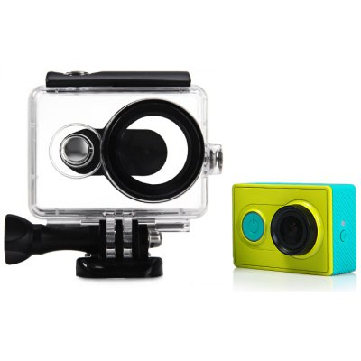 40M Waterproof Case for Xiaomi Yi Action CameraAction Cameras &amp; Sport DV Accessories<br>40M Waterproof Case for Xiaomi Yi Action Camera<br><br>Accessory type: Protective Cases/Housing<br>Apply to Brand: Xiaomi<br>Compatible with: Xiaomi Yi<br>Package Contents: 1 x Waterproof Case for Xiaomi Yi Action Camera<br>Package size (L x W x H): 11.00 x 9.00 x 5.00 cm / 4.33 x 3.54 x 1.97 inches<br>Package weight: 0.1010 kg<br>Product size (L x W x H): 7.00 x 8.00 x 5.00 cm / 2.76 x 3.15 x 1.97 inches<br>Product weight: 0.0720 kg<br>Waterproof: Yes