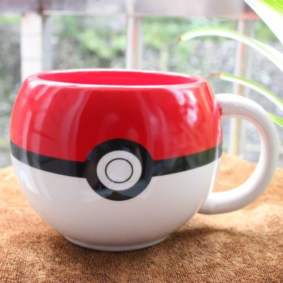 Anime Poke Ball Figural MugWater Cup &amp; Bottle<br>Anime Poke Ball Figural Mug<br><br>Main Features: Ceramic Cup, Poke Ball Style<br>Material: Ceramics<br>Package Contents: 1 x Poke Ball Cup<br>Package size (L x W x H): 13.50 x 11.00 x 8.50 cm / 5.31 x 4.33 x 3.35 inches<br>Package weight: 0.320 kg<br>Product size (L x W x H): 12.50 x 10.00 x 7.50 cm / 4.92 x 3.94 x 2.95 inches<br>Product weight: 0.250 kg<br>Style: Creative, Fashion<br>Suitable for: Camping, Home, Party, KTV, Bar<br>Type: Water, Tea, Fruit Juice, Coffee, Beer, Milk