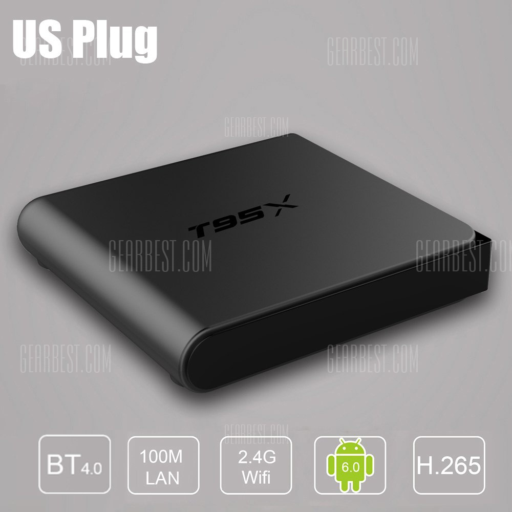 Sunvell T95X Amlogic S905X Android TV Box