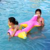 PVC Children Inflatable Cartoon Airplane Swimming Ring Float for sale
