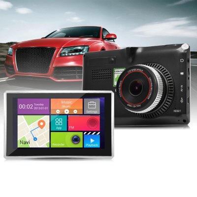 508 5 inch Android 4.4 Car Tablet GPS DVR