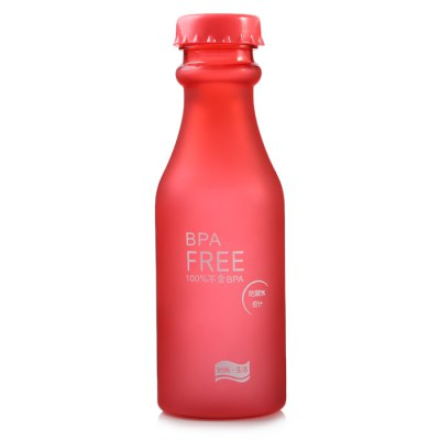 550ml Portable Sports Water Bottle BPA Free with Lanyard