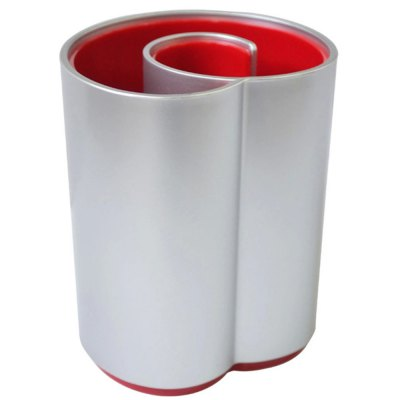 Deli 9143 Plastic Pen Holder Storage Box Pencil Container