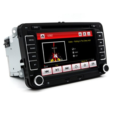 Junsun DVD - 7.0 - CE 7.0 inch 2 Din In-dash Car DVD MP3 Player