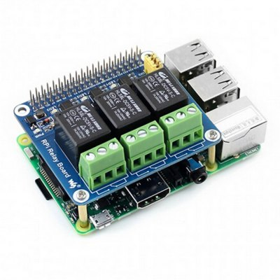 Power Relay Expansion Board with Onboard LEDRaspberry Pi<br>Power Relay Expansion Board with Onboard LED<br><br>Package Contents: 1 x Power Relay Expansion Board<br>Package Size(L x W x H): 7.50 x 7.00 x 2.00 cm / 2.95 x 2.76 x 0.79 inches<br>Package weight: 0.090 kg<br>Product Size(L x W x H): 6.50 x 5.60 x 0.50 cm / 2.56 x 2.2 x 0.2 inches<br>Product weight: 0.061 kg<br>Type: Relay Expansion Board