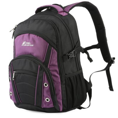 CAMEL MOUNTAIN 5350 BackpackBackpacks<br>CAMEL MOUNTAIN 5350 Backpack<br><br>Bag Capacity: 30L<br>Brand: CAMEL MOUNTAIN<br>Capacity: 21 - 30L<br>Color: Black,Purple,Red,Sapphire Blue<br>Features: Water Resistance, Laptop Bag<br>For: Tactical, Traveling, Sports, Hiking, Cycling, Climbing<br>Material: Nylon<br>Package Contents: 1 x CAMEL MOUNTAIN 5350 Backpack<br>Package size (L x W x H): 34.00 x 10.00 x 35.00 cm / 13.39 x 3.94 x 13.78 inches<br>Package weight: 1.045 kg<br>Product size (L x W x H): 33.00 x 16.00 x 48.00 cm / 12.99 x 6.3 x 18.9 inches<br>Product weight: 1.000 kg<br>Strap Length: 55 - 95cm<br>Type: Backpack