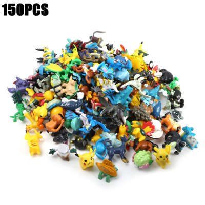 150PCS Little Monster Figure