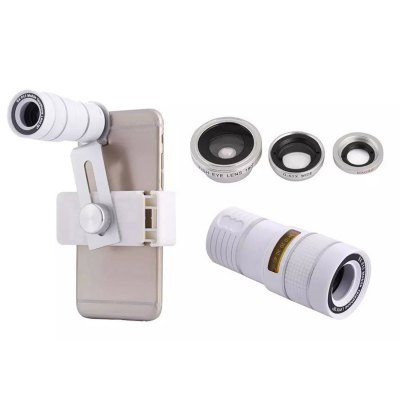Four-in-one Mobile Phone Lens for iPhone 6 6 Plus