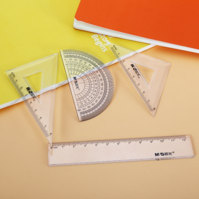 MG ChenGuang ACS90806 7 in 1 Compasses / Geometry KitOther Supplies<br>MG ChenGuang ACS90806 7 in 1 Compasses / Geometry Kit<br><br>Brand: MG ChenGuang<br>Material: Plastic<br>Color: Multi-color<br>Product weight: 0.094 kg<br>Package weight: 0.116 kg<br>Product size (L x W x H): 13.30 x 5.50 x 3.00 cm / 5.24 x 2.17 x 1.18 inches<br>Package size (L x W x H): 14.30 x 6.50 x 4.00 cm / 5.63 x 2.56 x 1.57 inches<br>Package Contents: 1 x Compass, 1 x Mechanical Pencil, 1 x 15cm  Ruler, 1 x 45 Degrees Square, 1 x 60 Degrees Square, 1 x Protractor, 1 x Eraser, 1 x Case