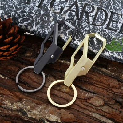 2pcs Zinc Alloy Keychain with Ring for Daily Use