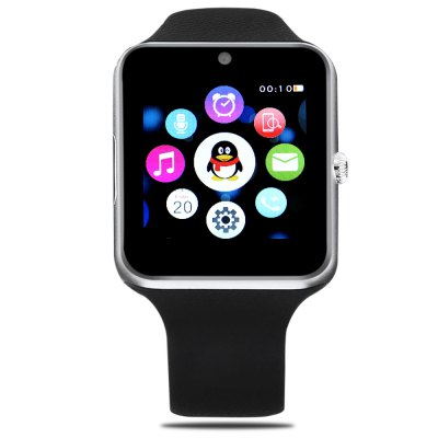 TenFifteen Q7SE Smartwatch PhoneSmart Watch Phone<br>TenFifteen Q7SE Smartwatch Phone<br><br>Brand: TenFifteen<br>Type: Watch Phone<br>CPU: MTK2502<br>RAM: 64MB<br>ROM: 128MB<br>External Memory: TF card up to 16GB (not included)<br>Compatible OS: Android,IOS<br>Wireless Connectivity: Bluetooth 4.0,GPS,GSM<br>Network type: GSM<br>Frequency: GSM850/900/1800/1900MHz<br>GPS: Yes<br>Bluetooth: Yes<br>Bluetooth version: V4.0<br>Screen type: IPS<br>Screen size: 1.54 inch<br>Screen resolution: 240 x 240<br>Camera type: Single camera<br>Front camera: 0.3MP<br>Video recording: Yes<br>SIM Card Slot: Single SIM<br>TF card slot: Yes<br>Picture format: JPEG,PNG<br>Music format: MP3,WAV<br>Video format: 3GP,MP4<br>Languages: Pesian, Arabic, Russian, Turkish, Dutch, German, Italian, Portuguese, Polish, Spanish, English, French, Chinese<br>Additional Features: 2G,Bluetooth,GPS,MP3,Notification,People,Sound Recorder,Wi-Fi<br>Functions: Anti-lost alert,Message,Pedometer,Remote Camera,Sedentary reminder,Sleep monitoring<br>Cell Phone: 1<br>Battery: 350mAh Built-in<br>USB Cable: 1<br>User Manual: 1<br>Product size: 4.55 x 4.10 x 1.15 cm / 1.79 x 1.61 x 0.45 inches<br>Package size: 13.00 x 13.00 x 8.20 cm / 5.12 x 5.12 x 3.23 inches<br>Product weight: 0.047 kg<br>Package weight: 0.246 kg