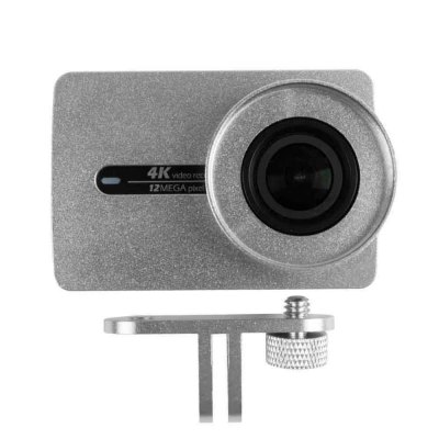SMACO Aluminum Alloy Housing Lens Cover for Xiaomi Yi IIAction Cameras &amp; Sport DV Accessories<br>SMACO Aluminum Alloy Housing Lens Cover for Xiaomi Yi II<br><br>Accessory type: Camera Lens Cover, Protective Cases/Housing<br>Apply to Brand: Xiaomi<br>Brand: SMACO<br>Compatible with: Xiaomi Yi II<br>Material: Alluminum Alloy<br>Package Contents: 1 x Protective Housing, 1 x Lens Cover, 1 x Mount, 1 x Screw<br>Package size (L x W x H): 10.00 x 10.00 x 6.00 cm / 3.94 x 3.94 x 2.36 inches<br>Package weight: 0.120 kg<br>Product size (L x W x H): 6.80 x 3.70 x 4.70 cm / 2.68 x 1.46 x 1.85 inches<br>Product weight: 0.060 kg