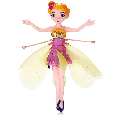 Cartoon Figure Style Hand Induction Helicopter