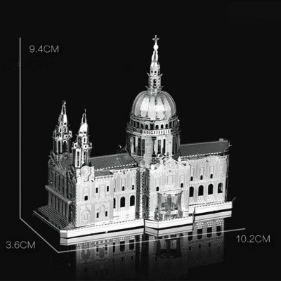 ZOYO Educational Church Module PuzzleModel &amp; Building Toys<br>ZOYO Educational Church Module Puzzle<br><br>Brand: ZOYO<br>Gender: Unisex<br>Materials: Metal<br>Package Contents: 3 x 3D Metallic Puzzle Board, 1 x Illustration Description<br>Package size: 18.00 x 12.00 x 2.00 cm / 7.09 x 4.72 x 0.79 inches<br>Package weight: 0.060 kg<br>Product size: 10.20 x 3.60 x 9.40 cm / 4.02 x 1.42 x 3.7 inches<br>Product weight: 0.040 kg<br>Stem From: Europe and America<br>Style: Other<br>Theme: Movie and TV<br>Type: 3D Puzzle