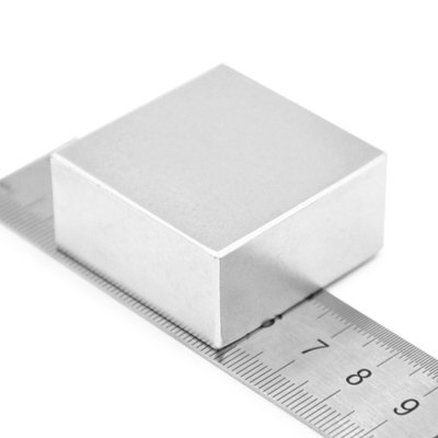 35 x 35 x 15mm N52 Powerful NdFeB Square Magnet for Kid DIY