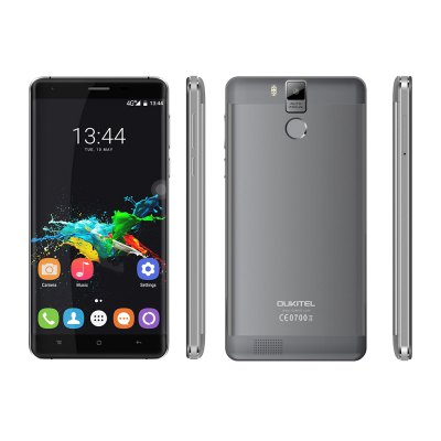 Oukitel K6000 Pro 4G PhabletCell phones<br>Oukitel K6000 Pro 4G Phablet<br><br>2G: GSM 850/900/1800/1900MHz<br>3G: WCDMA 900/2100MHz<br>4G: FDD-LTE 800/1800/2100/2600MHz<br>Additional Features: Gravity Sensing, GPS, Fingerprint recognition, E-book, Calendar, Calculator, Browser, Bluetooth, 4G, 3G, Hotknot, Light Sensing, Wi-Fi, Sound Recorder, Proximity Sensing, People, OTG, Off-screen gesture, MP4, MP3, Miracast<br>Auto Focus: Yes<br>Back-camera: 13.0MP (SW 16.0MP) with Dual flash and AF<br>Battery Capacity (mAh): 6000mAh<br>Battery Type: Non-removable<br>Battery Volatge: 5V<br>Bluetooth Version: V4.0<br>Brand: OUKITEL<br>Camera type: Dual cameras (one front one back)<br>Cell Phone: 1<br>Cores: Octa Core, 1.3GHz<br>CPU: MTK6753 64bit<br>E-book format: TXT<br>English Manual : 1<br>External Memory: TF card up to 32GB (not included)<br>Flashlight: Yes<br>Front camera: 5.0MP (SW 8.0MP)<br>Games: Android APK<br>Google Play Store: Yes<br>GPU: Mali-T720<br>I/O Interface: TF/Micro SD Card Slot, Micro USB Slot, 3.5mm Audio Out Port, 2 x Micro SIM Card Slot<br>Language: Indonesian, Malay, Catalan, Czech, Danish, German, Estonian, English(United Kingdom), English(United States), Spanish(Spain), Spanish(United States), Filipino, French, Croatian, Italian, Latvian, Lith<br>Live wallpaper support: Yes<br>Music format: MP2, MP3, OGG, WAV, AAC<br>Network type: GSM+WCDMA+FDD-LTE<br>OS: Android 6.0<br>OTA: Yes<br>OTG : Yes<br>OTG Cable: 1<br>Package size: 19.50 x 12.50 x 5.50 cm / 7.68 x 4.92 x 2.17 inches<br>Package weight: 0.5500 kg<br>Picture format: PNG, BMP, GIF, JPEG<br>Power Adapter: 1<br>Product size: 15.43 x 7.67 x 0.98 cm / 6.07 x 3.02 x 0.39 inches<br>Product weight: 0.2140 kg<br>RAM: 3GB RAM<br>ROM: 32GB<br>Screen Protector: 1<br>Screen resolution: 1920 x 1080 (FHD)<br>Screen size: 5.5 inch<br>Screen type: Capacitive (5-Points), OGS, 2.5D Arc Screen<br>Sensor: Ambient Light Sensor,Gravity Sensor,Hall Sensor,Proximity Sensor<br>Service Provider: Unlocked<br>SIM Card Slot: