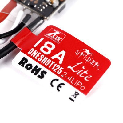 ZTW Spider Lite 18A OPTO Electronic Speed Controller