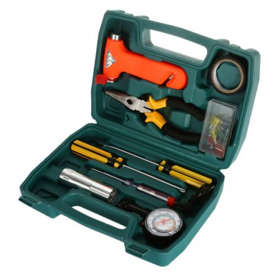 28 in 1 Multi-functional Household Tool KitTool Kit<br>28 in 1 Multi-functional Household Tool Kit<br><br>Optional Color: Multi-color<br>Package size (L x W x H): 24.80 x 17.50 x 6.60 cm / 9.76 x 6.89 x 2.6 inches<br>Package weight: 0.697 kg<br>Product size (L x W x H): 23.80 x 16.50 x 5.60 cm / 9.37 x 6.5 x 2.2 inches<br>Product weight: 0.677 kg<br>Screw Head Type: Cross, Slotted<br>Special function: Repair Tool<br>Steel Material  : Carbon steel