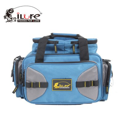 ILURE BP017 Fishing Tackles BagFishing Tools and Accessories<br>ILURE BP017 Fishing Tackles Bag<br><br>Brand: ILURE<br>Material: Oxford, Polyester<br>Package Contents: 1 x ILURE Fishing Tackles Storage Bag, 4 x Bait Box<br>Package size (L x W x H): 35.00 x 25.00 x 10.00 cm / 13.78 x 9.84 x 3.94 inches<br>Package weight: 1.250 kg<br>Product size (L x W x H): 42.00 x 29.50 x 28.00 cm / 16.54 x 11.61 x 11.02 inches<br>Product weight: 1.200 kg