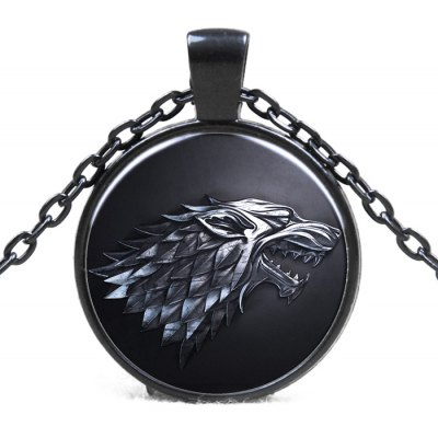 Family Badge Model Pendant Movie Product Necklace