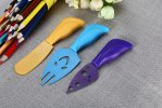 5pcs Colorful Cheese Knife Set for sale