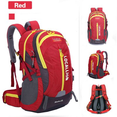 LOCAL LION 40L Water Resistant Trekking Backpack