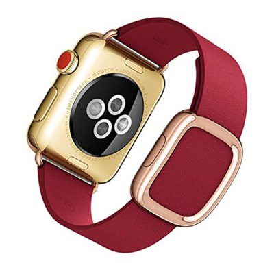 HOCO Leather Watchband for Apple Watch 38mmApple Watch Bands<br>HOCO Leather Watchband for Apple Watch 38mm<br><br>Brand: Hoco<br>Color: Pink,Red<br>Function: For Apple Watch 38mm<br>Material: Genuine Leather<br>Package Contents: 1 x Watchband<br>Package size: 27.00 x 7.00 x 3.00 cm / 10.63 x 2.76 x 1.18 inches<br>Package weight: 0.135 kg<br>Product size: 19.00 x 3.80 x 0.60 cm / 7.48 x 1.5 x 0.24 inches<br>Product weight: 0.085 kg