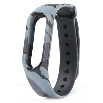 Camouflage Pattern Watch Strap for Xiaomi Mi band 2Smartwatch Accessories<br>Camouflage Pattern Watch Strap for Xiaomi Mi band 2<br><br>Type: Smart watch / wristband band<br>Vailable brand: XiaoMi<br>Material: TPE<br>Color: Blue,Gray,Green<br>Product weight: 0.011 kg<br>Package weight: 0.050 kg<br>Product size (L x W x H): 23.50 x 1.80 x 1.00 cm / 9.25 x 0.71 x 0.39 inches<br>Package size (L x W x H): 24.50 x 2.80 x 2.00 cm / 9.65 x 1.1 x 0.79 inches<br>Package Contents: 1 x Camouflage Pattern Watch Strap for Xiaomi Mi band 2