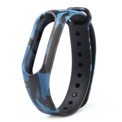 Camouflage Pattern Watch Strap for Xiaomi Mi band 2Smart Watch Accessories<br>Camouflage Pattern Watch Strap for Xiaomi Mi band 2<br><br>Type: Smart watch / wristband band<br>Vailable brand: XiaoMi<br>Material: TPE<br>Color: Blue,Gray,Green<br>Product weight: 0.011 kg<br>Package weight: 0.050 kg<br>Product size (L x W x H): 23.50 x 1.80 x 1.00 cm / 9.25 x 0.71 x 0.39 inches<br>Package size (L x W x H): 24.50 x 2.80 x 2.00 cm / 9.65 x 1.1 x 0.79 inches<br>Package Contents: 1 x Camouflage Pattern Watch Strap for Xiaomi Mi band 2