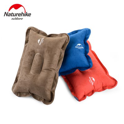 NatureHike InflatableSoft Air Inflation Suede Fabric Pillow for Camping Car DrivingTent Accessories<br>NatureHike InflatableSoft Air Inflation Suede Fabric Pillow for Camping Car Driving<br><br>Brand: Naturehike<br>Color: Blue,Brown,Orange<br>Gender: Unisex<br>Package Contents: 1 x NatureHike Suede Fabric Pillow<br>Package size (L x W x H): 11.00 x 8.50 x 4.00 cm / 4.33 x 3.35 x 1.57 inches<br>Package weight: 0.1610 kg<br>Product size (L x W x H): 42.00 x 28.00 x 1.00 cm / 16.54 x 11.02 x 0.39 inches