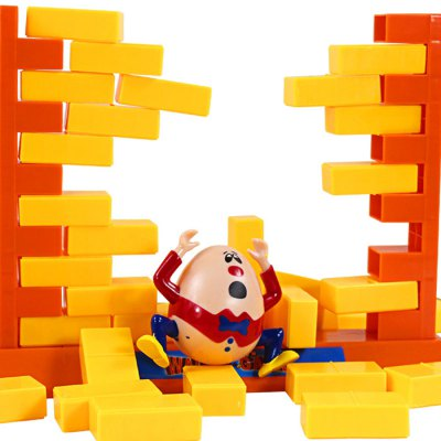 Wall Demolish GameNovelty Toys<br>Wall Demolish Game<br><br>Features: Creative Toy, Educational<br>Materials: ABS<br>Package Contents: 1 x Doll, 3 x Wall Frame, 44 x Brick, 2 x Mini Shovel<br>Package size: 27.00 x 26.00 x 18.00 cm / 10.63 x 10.24 x 7.09 inches<br>Package weight: 0.500 kg<br>Product size: 23.00 x 7.00 x 17.50 cm / 9.06 x 2.76 x 6.89 inches<br>Series: Entertainment<br>Theme: Family