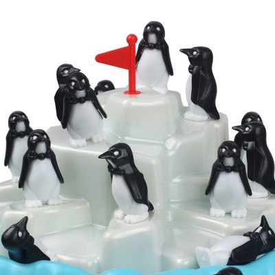 Penguin Pile Up Table GameNovelty Toys<br>Penguin Pile Up Table Game<br><br>Features: Creative Toy, Educational<br>Materials: ABS<br>Package Contents: 24 x Penguin, 1 x Base, 1 x Iceberg, 1 x Flag<br>Package size: 26.00 x 26.00 x 16.00 cm / 10.24 x 10.24 x 6.3 inches<br>Package weight: 0.480 kg<br>Product size: 14.00 x 25.00 x 25.00 cm / 5.51 x 9.84 x 9.84 inches<br>Series: Entertainment<br>Theme: Family