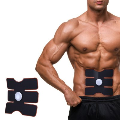 CM - 1502 Smart Muscle Training Gear Abs Fit with Gel Sheet