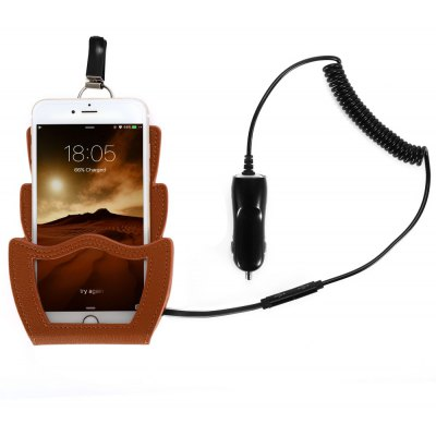 Amisir A5 Qi 3 Coil Car Wireless Charger Transmitter