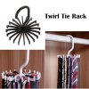 Swivel Hook Necktie Belt Rack